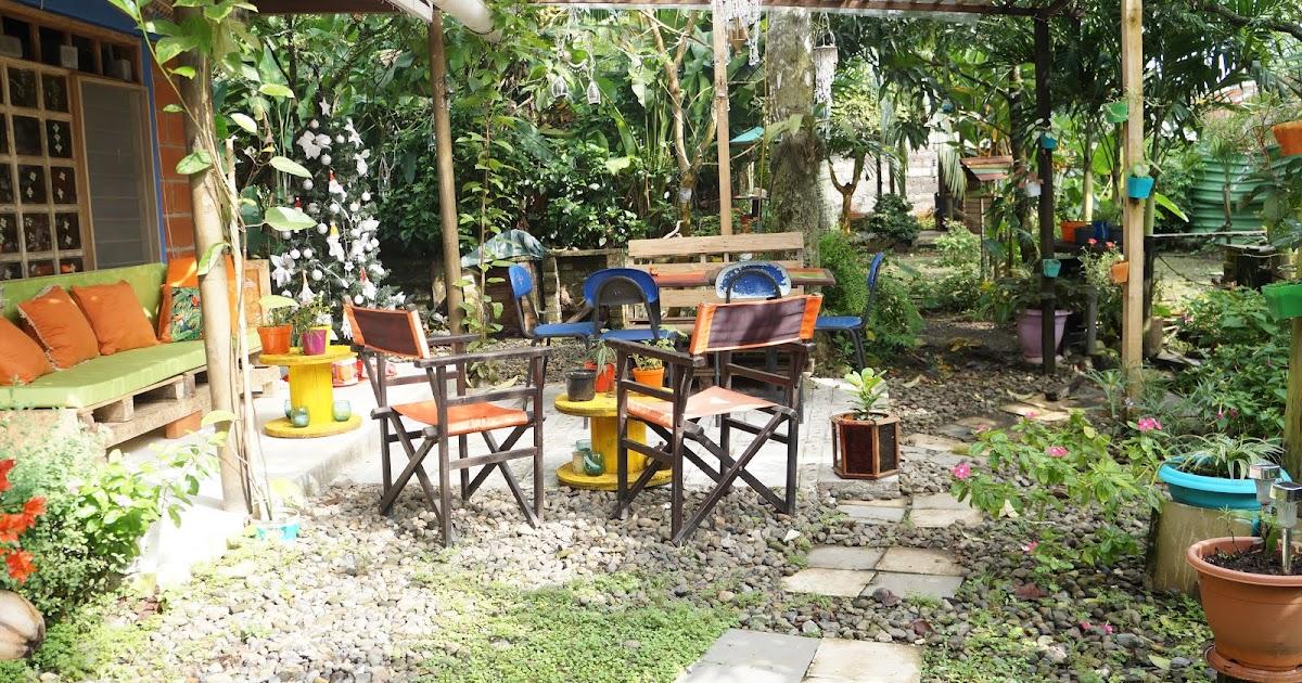 Decoraci n casa rural decorando el patio con material - Decoracion casa rural ...