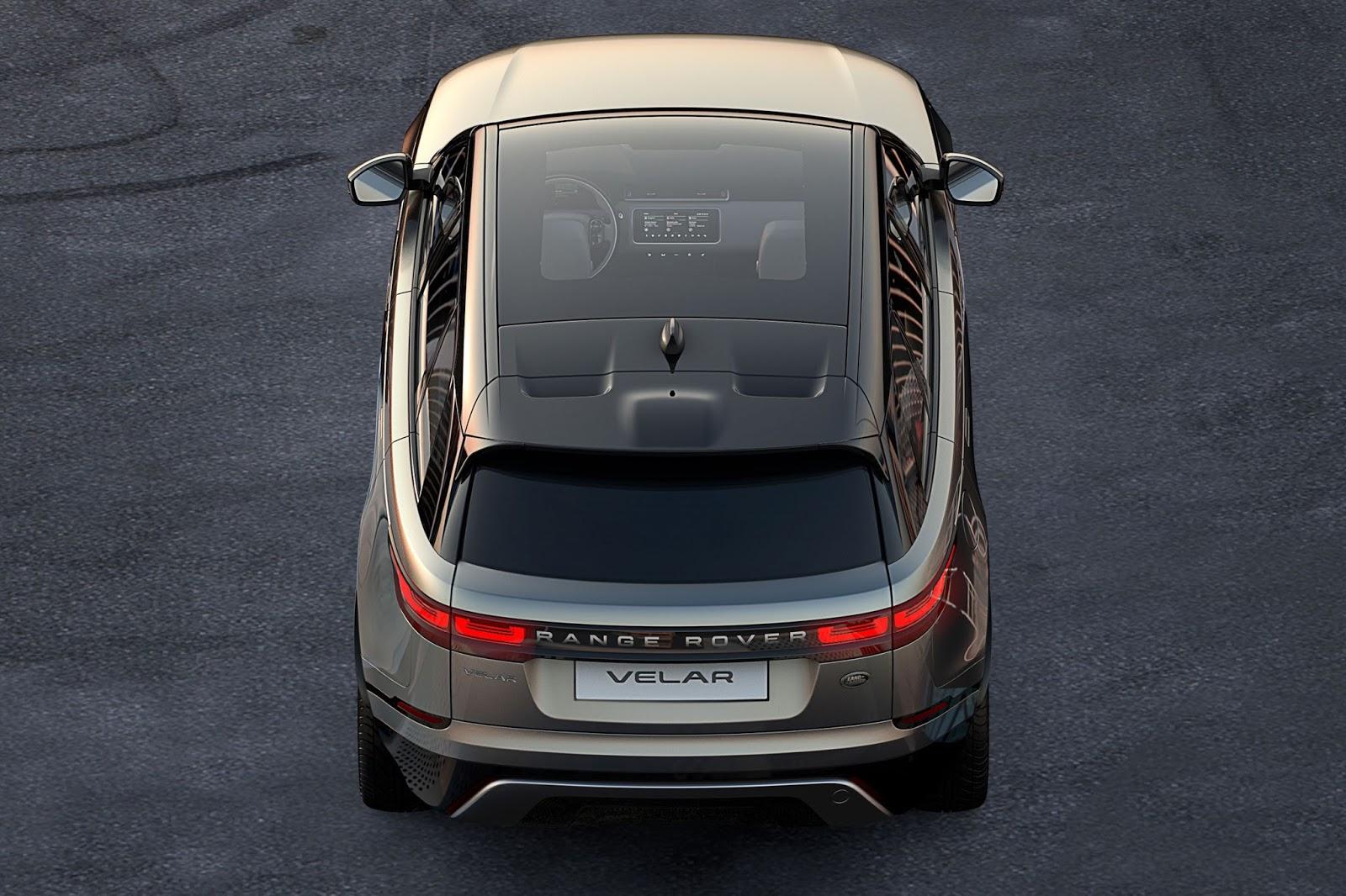 Đuôi xe của Range Rover Velar thế hệ mới đẹp hơn