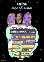 Concierto de Repion y Poço dos Negros en Siroco Club