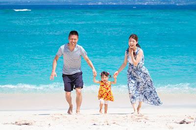 沖縄 家族旅行 写真