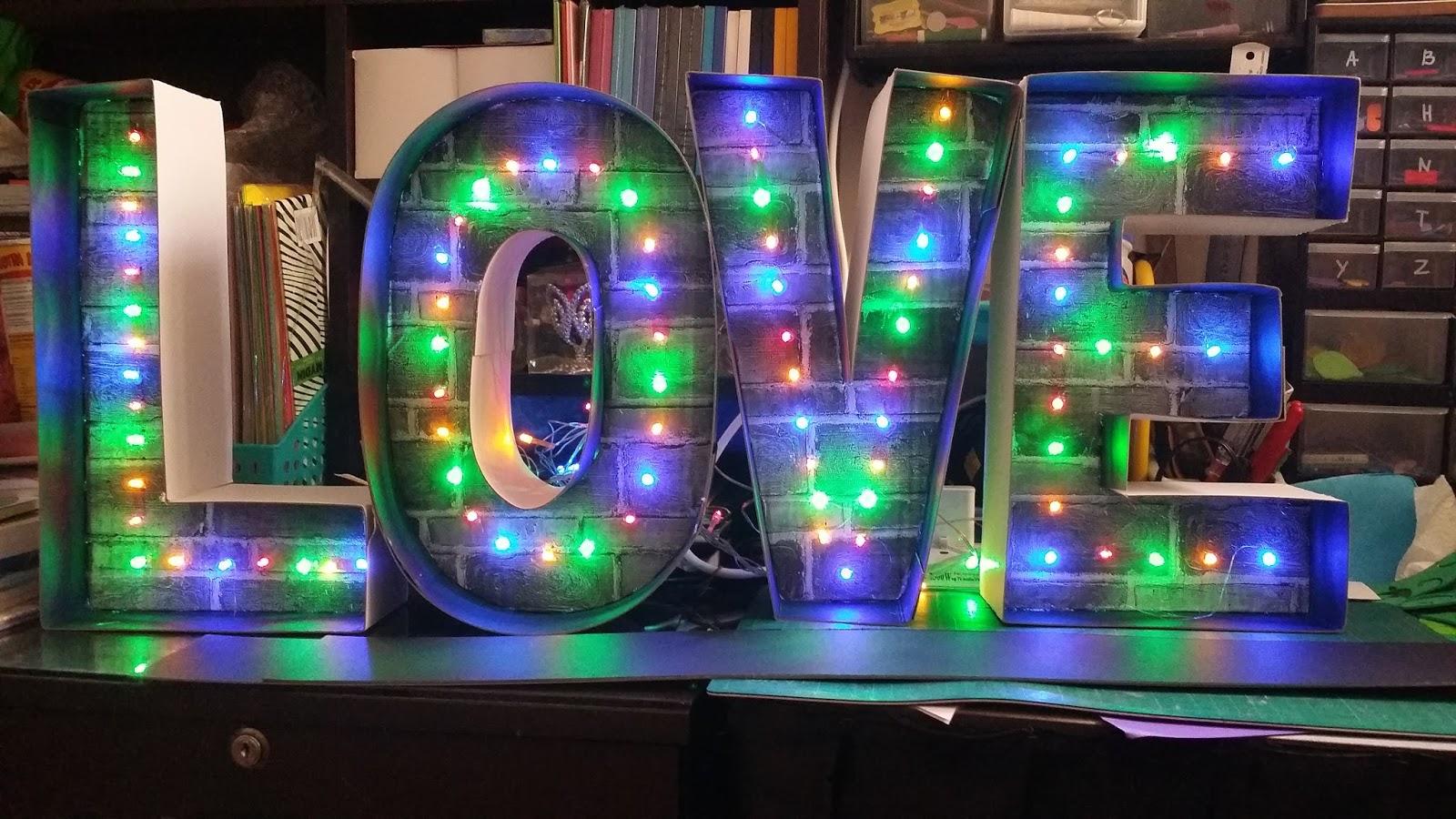 QisAiNa KrEaTiF (002212275-D): jom diy lampu tulisan