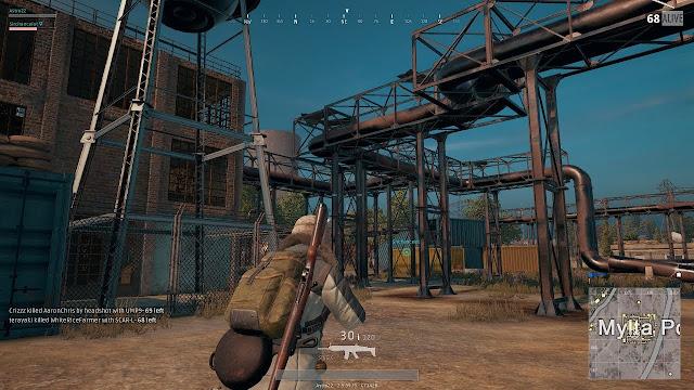 tempat senjata sniper di pubg mobile  tempat rahasia pubg mobile  lokasi awm di pubg mobile