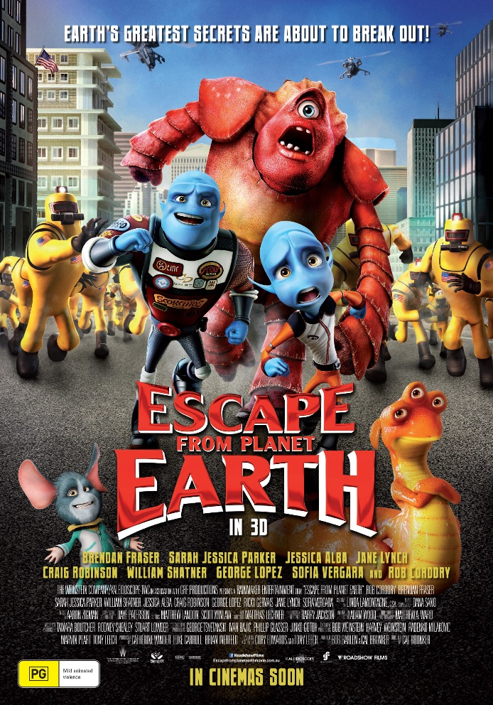 Kidz Review Krew ESCAPE FROM PLANET EARTH