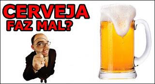 Males da cerveja para a saúde