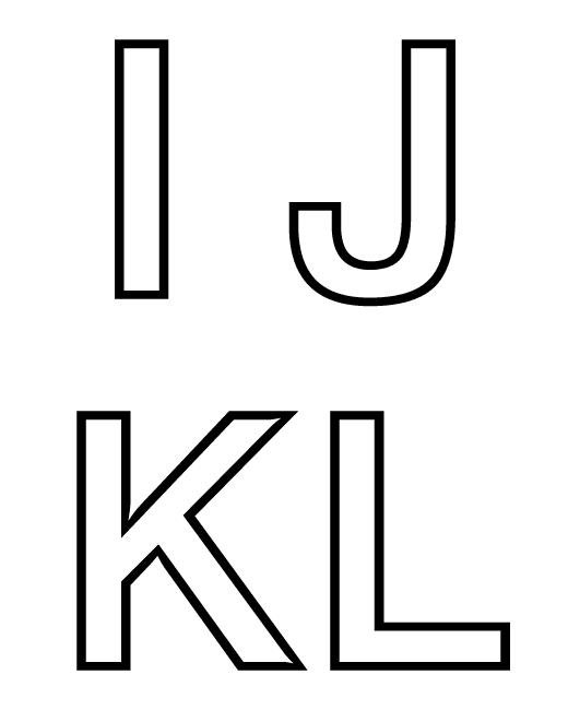 Letras do Alfabeto para Imprimir - Alfabetização — SÓ ESCOLA