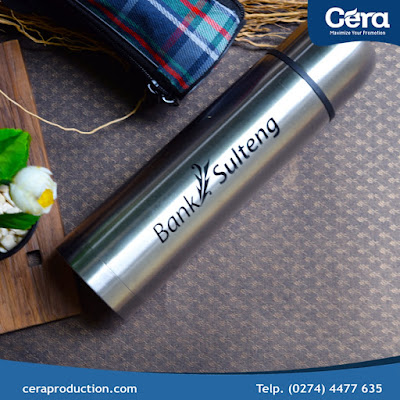 Pusat Jual Tumbler - Tumbler Vacuum Flask Standar Bank Sulteng