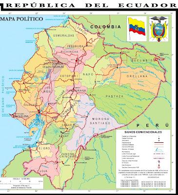 maps ecuador