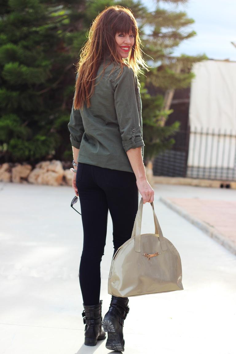 Streetstyle, fashion blogger, vestido camisero, calzados sandra, primavera 2016, blogger