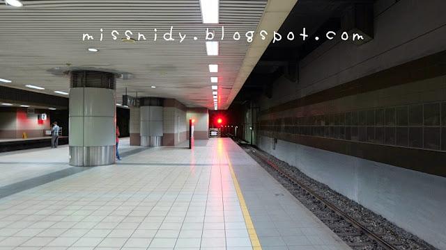 suasana stasiun kl sentral