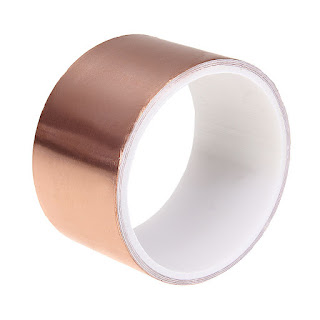 Copper Foil Tape EMI Shielding Guitar Slug and Snail Barrier 5CMx3M