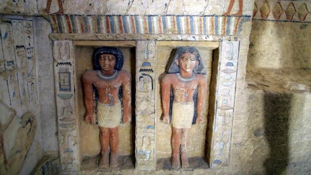 Ανακαλύφθηκε τάφος στην Αίγυπτο 4.400 χρόνων