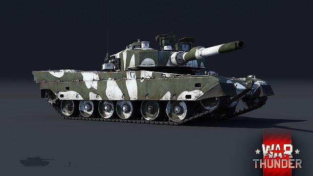 Introducción del Type 90 japones en War Thunder !