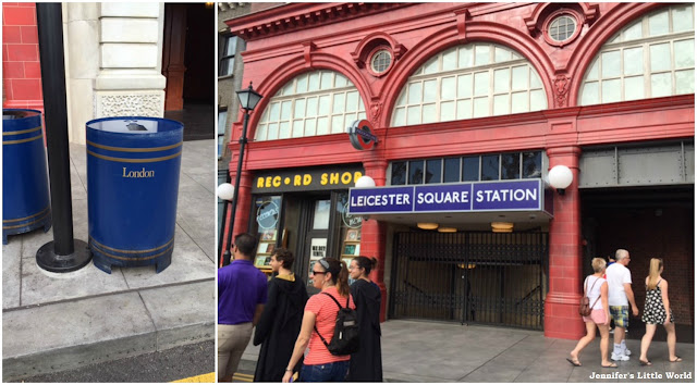 Leicester Square Station at Universal Studios, Florida