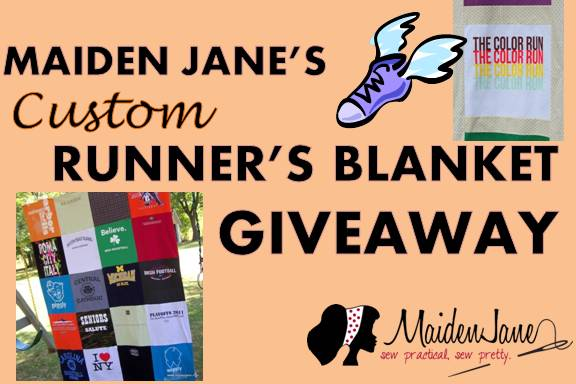 Maiden Jane's CUSTOM Runner's Blanket GIVEAWAY!