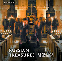 Russian Treasures - Tenebrae/Nigel Short; SIGCD900