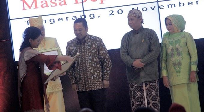 PAUD Berkualitas, Wali Kota Terima Penghargaan
