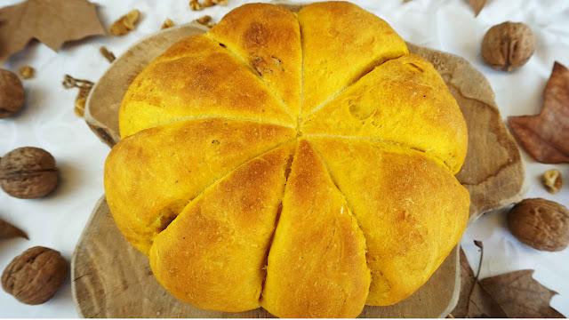 Pan de calabaza muy tierno y sabroso
