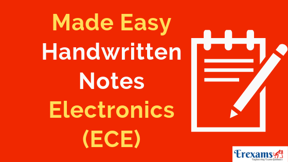 Made Easy Handwritten Notes for Electronics (ECE)