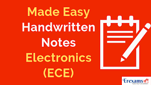Made Easy Handwritten Notes for Electronics (ECE) Branch