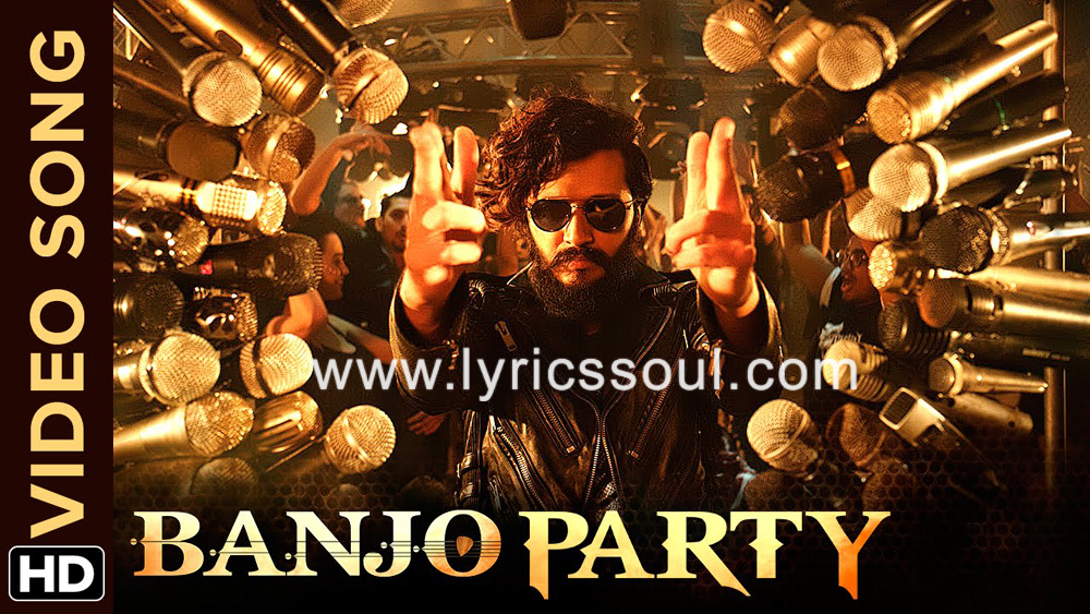 The Banjo Party Song lyrics from 'Banjo', The song has been sung by Vishal Dadlani, Neeti Mohan, . featuring Riteish Deshmukh, Nargis Fakhri, , . The music has been composed by Vishal-Shekhar, , . The lyrics of Banjo Party Song has been penned by Vishal Dadlani, Ravi Jadhav,
