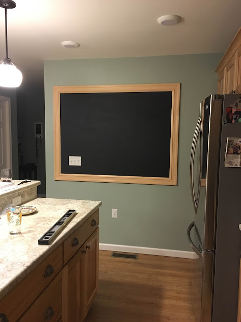 building on love: DIY chalkboard