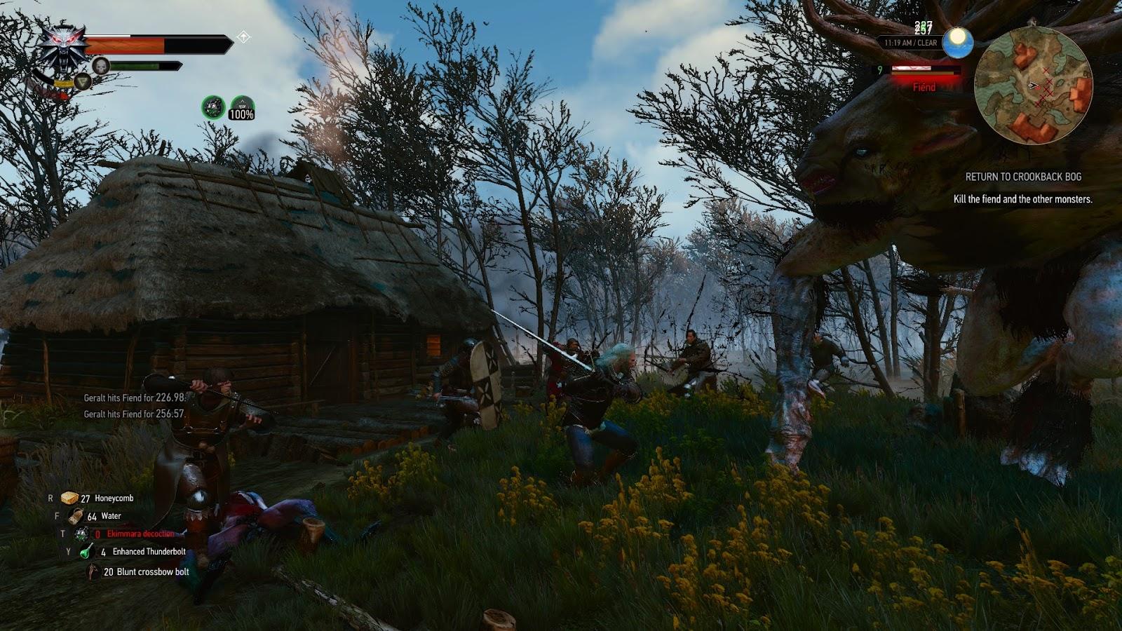 Patterns in Randomness: The Witcher 3: Wild Hunt
