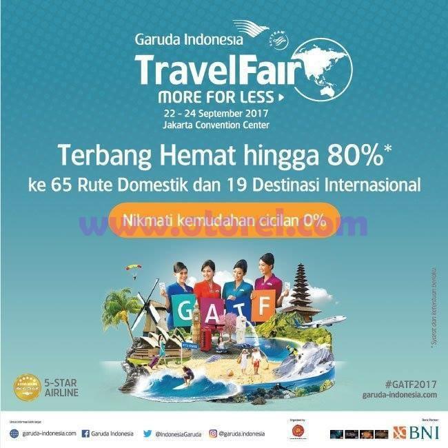 Garuda Indonesia Trafel Fair GATF 2017 Jakarta Convention Center September 2017