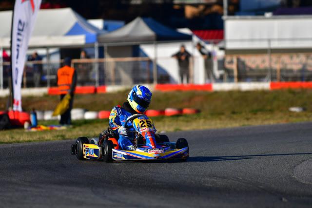 5ος γύρος Πανελλήνιου Πρωταθλήματος Karting 2017 αποτελέσματα