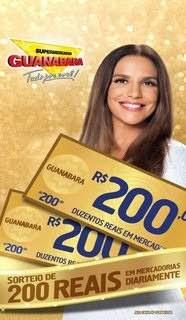 Promoção Guanabara 2019 Sorteio 200 Reais Mercadorias Todo Dia - Ganhadores