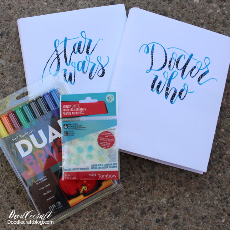 Doodlecraft How To Cover A Text Book Back To School With Tombow