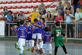 Equipe de Teresópolis comemora mais um gol