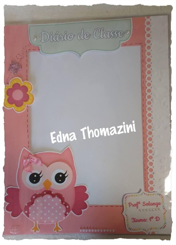 Edna Thomazini ~ Capas de Diário Vazadas Edna Thomazini Ateli u00ea Criativo