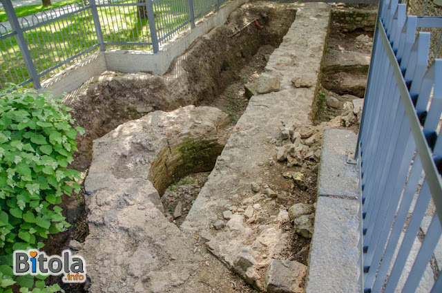 Remains of old church - St. George under Isak Mosque, Bitola, Macedonia