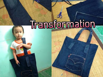 Bag Dari Jeans Denim