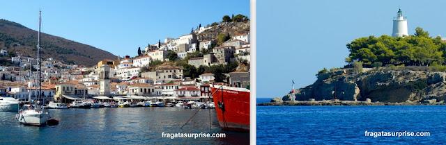 Bate e volta a partir de Nafplio: Ilhas de Hidra e Dpétses, no Arquipélago Argo-Sarônico