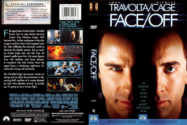 Face Off DVD Cover