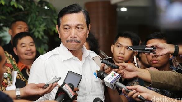 Aksi #2019GantiPresiden Diadang, Luhut: Daripada Bentrok
