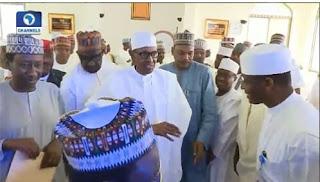 Muhammadu Buhari appearance