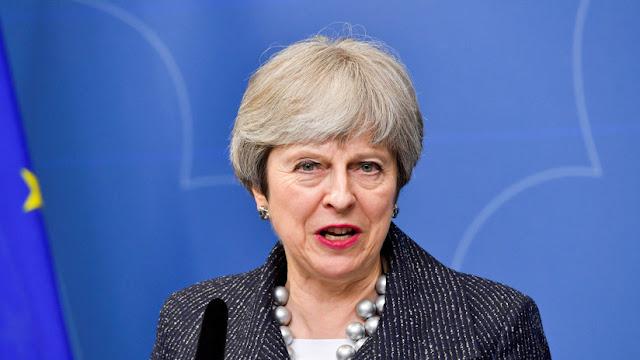 May autoriza participación de las Fuerzas Armadas británicas en la operación contra Siria