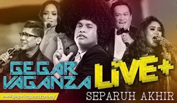 VIDEO: Jom Tonton LIVE Video Gegar Vaganza Separuh Akhir, HD & Tanpa Sangkut²