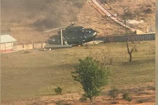 Helikopter Militer Myanmar Jatuh