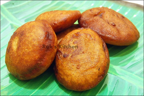 Wheat flour banana appam