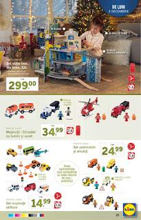 CATALOG LIDL 3 - 9 decembrie 2018 jucarii cadou pentru copii
