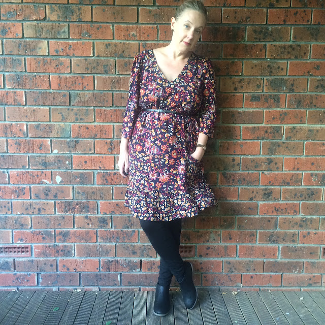 Millers floral dress | Almost Posh