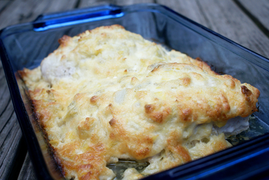 Artichoke Chicken Bake