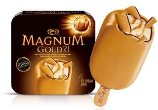 es krim magnum gold unilever