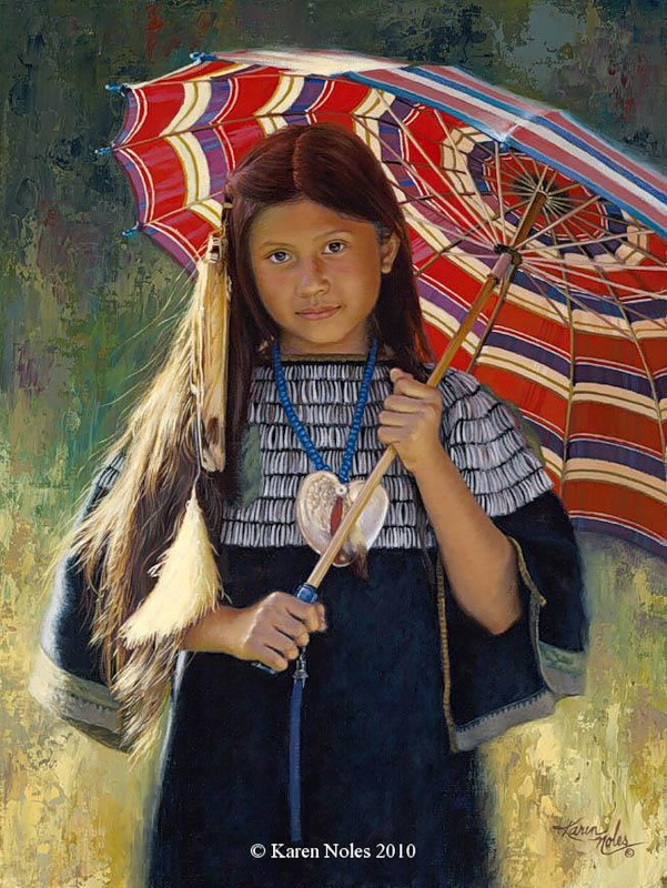 "Native American Fine Art By ""Karen Noles 1947"""