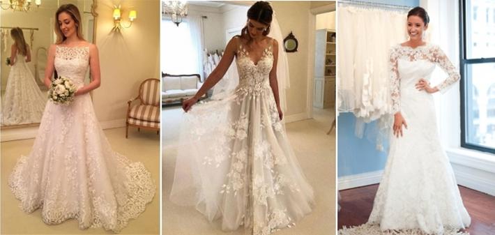 Melhores modelos de vestidos de noiva