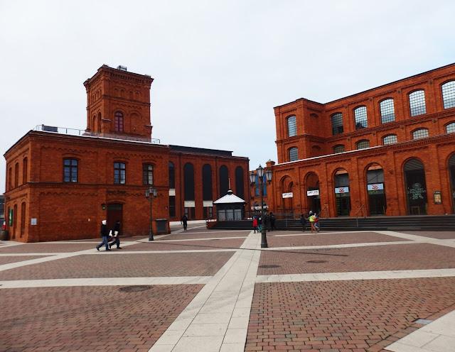 Centrum handlowe Manufaktura.