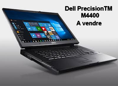 لاب توب بحالة ممتازة للبيع أو للتبادل مقابل هاتف نقال Dell Precision M4400 à vendre